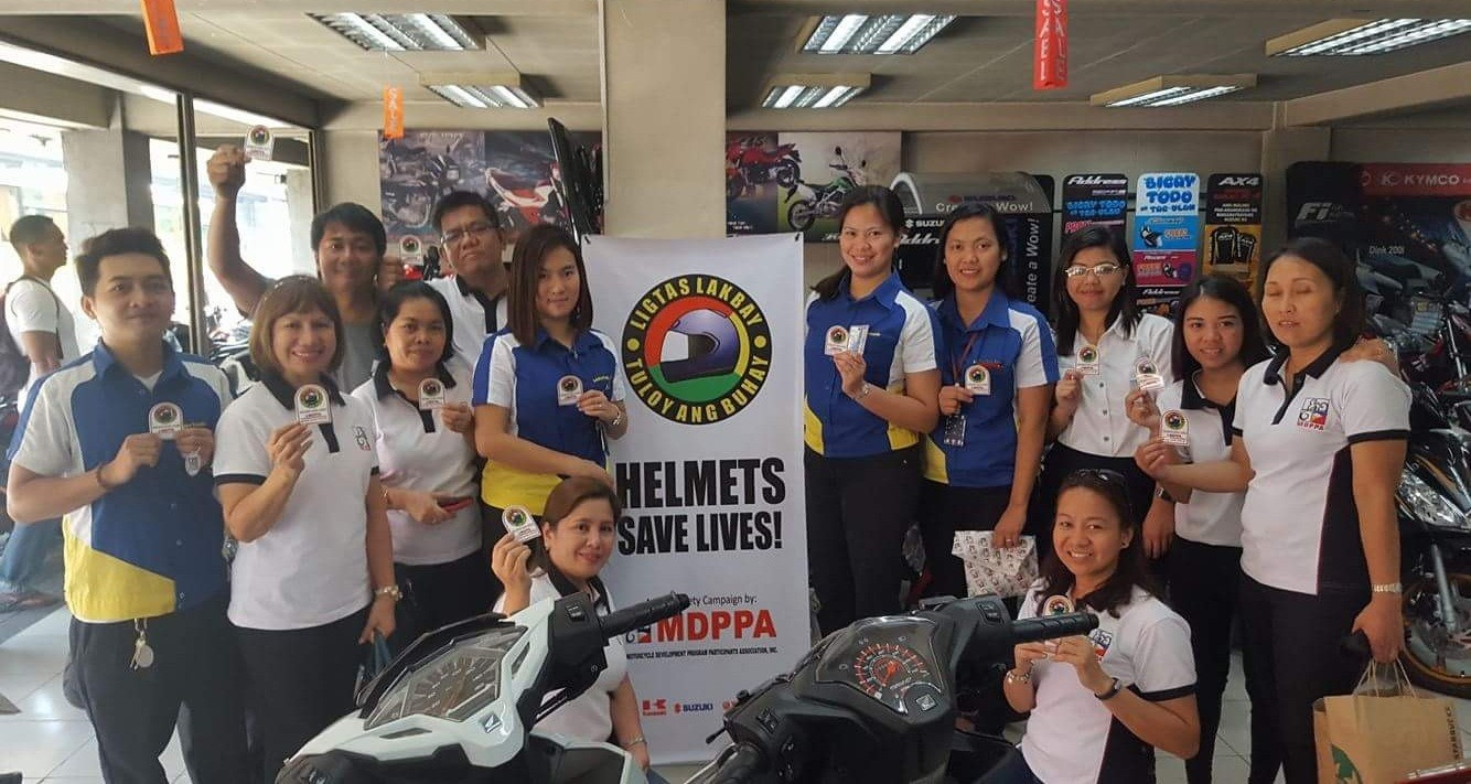 MDPPA Marketing and Road Safety Committees at the Motortrade Nationwide Corporation Dealer Shop